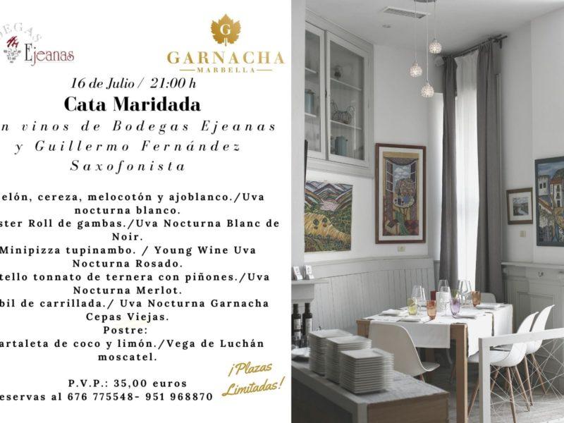 Cata maridada Restaurante La Garnacha (Marbella)